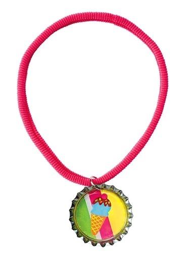 Alex 756S Gazoz Kapağından Takılar & Çok Tatlı Renkli Renkli